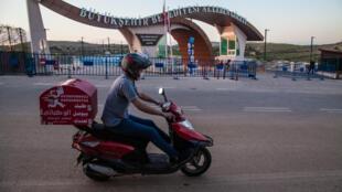 Livreur-turquie-scooter-gaziantep-2020