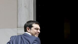Greek Prime Minister Alexis Tsipras in Athenes, on 23 June 2015.