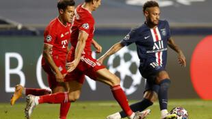 neymar psg bayern lique des champions