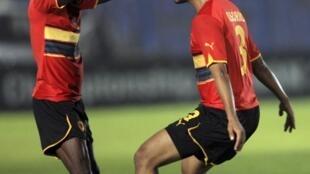 Les Angolais qualifiés pour la finale du CHAN 2011.