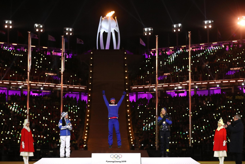 Марит Бьорген получила свое второе золото во время церемонии закрытия, 25 февраля 2018 года, Пхёнчхан.