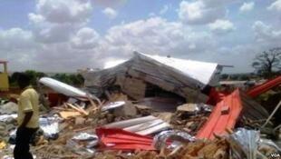Demolições no Zango, periferia de Luanda