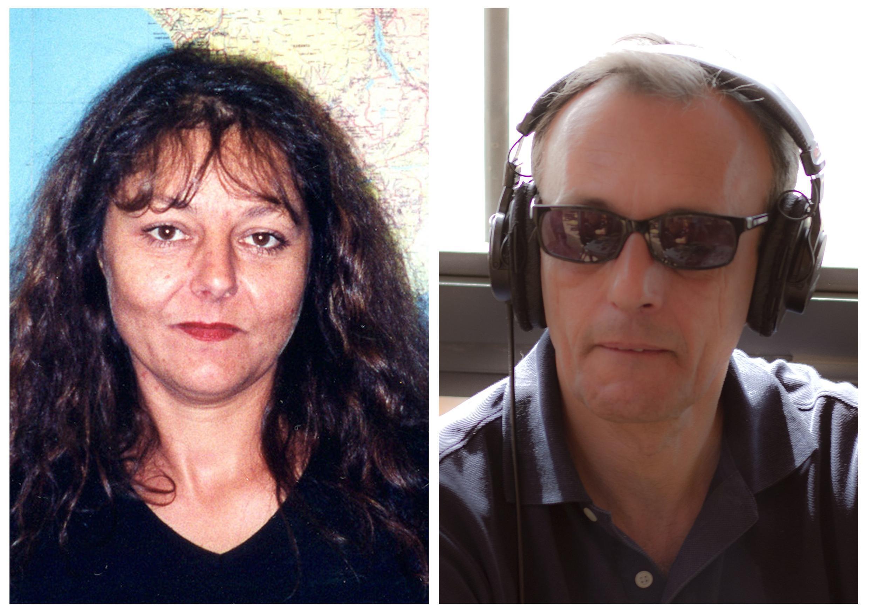 រូបថត លោកស្រី Ghislaine Dupont និងលោក Claude Verlon អ្នកកាសែត របស់វិទ្យុបារាំងអន្តរជាតិ RFI ដែលត្រូវក្រុមភេរវកម្មសម្លាប់នៅម៉ាលី ថ្ងៃទី ២ វិច្ឆិកា ២០១៣។