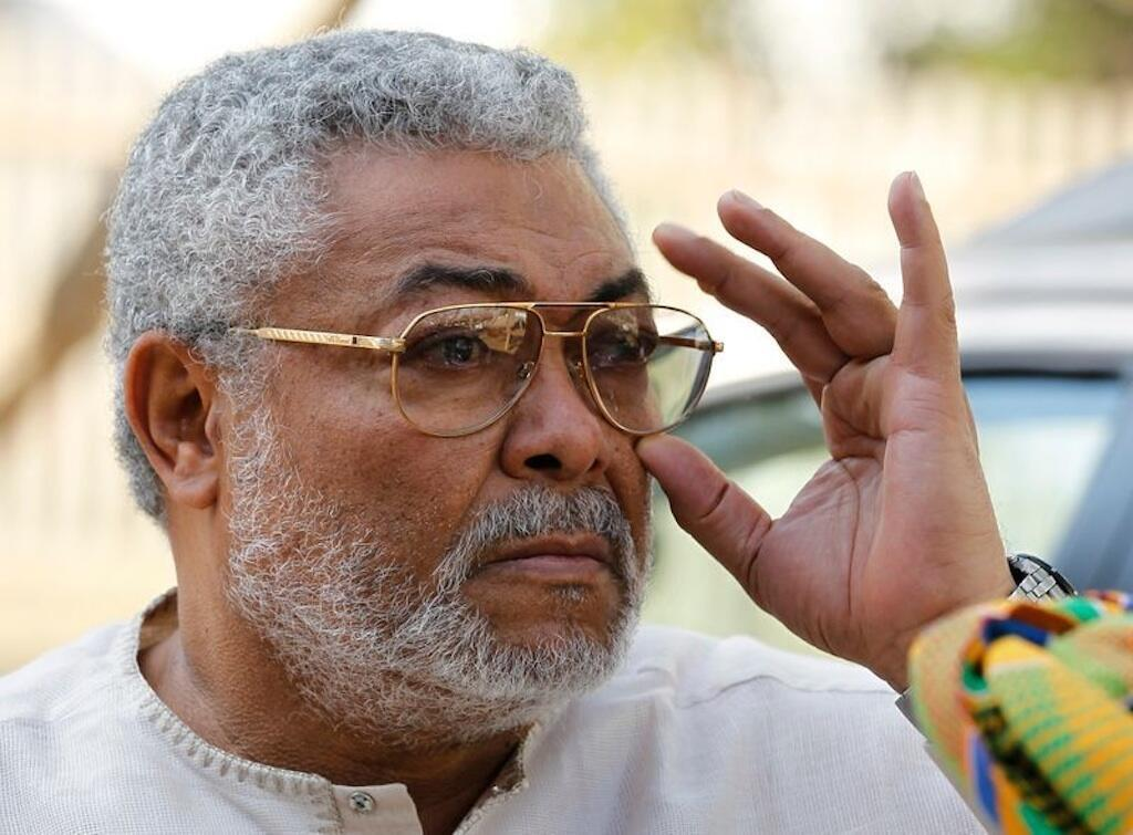 Tsohon shugaban kasar Ghana Jerry Rawlings.