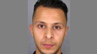 Salah Abdeslam, um dos presumíveis autores dos atentados de 13 de Novembro em Paris