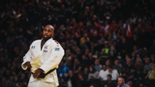 Teddy Riner lors du Grand Slam de Paris, le 9 février 2020