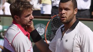 Jo-Wilfried Tsonga foi eliminado na meia - final de Roland Garros.