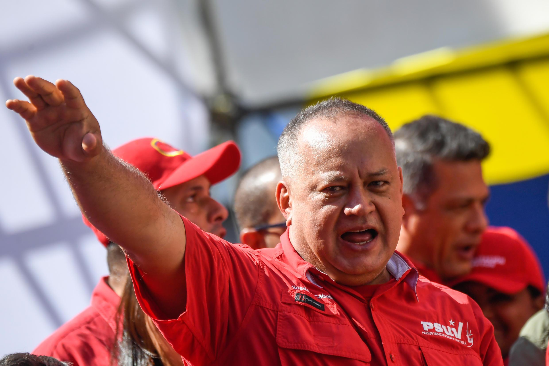 O presidente da Assembleia Constituinte da Venezuela, Diosdado Cabello, foi diagnosticado com coronavírus.