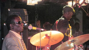 L'artiste musicien sénégalais Pape Niang.