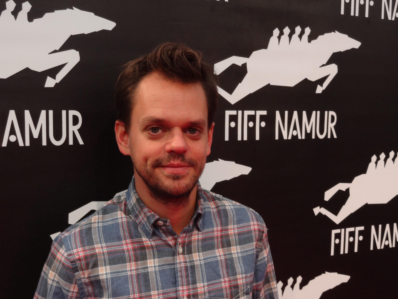 Cyprien Vial, réalisateur français du film «Bébé Tigre», au 29e Festival international du film francophone de Namur.