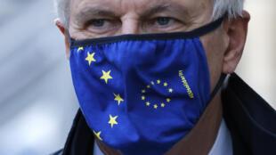 El negociador jefe europeo, Michel Barnier, en Londres, Reino Unido, el 13 de noviembre de 2020