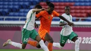 PHOTO Franck Kessié - Côte d'Ivoire VS Arabie saoudite