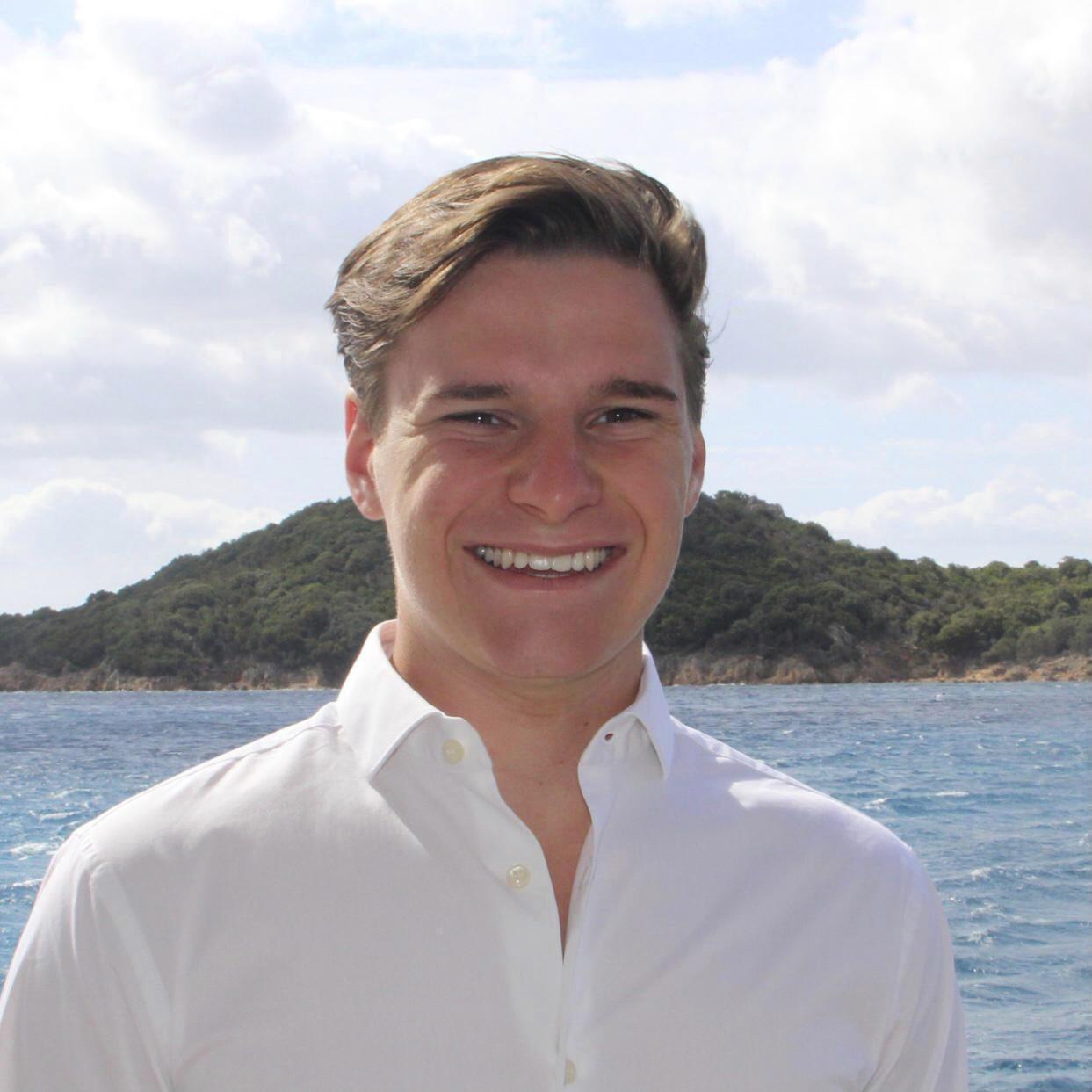 Une photo non datée d'Oliver Daemen fournie par sa famille en juillet 2021.