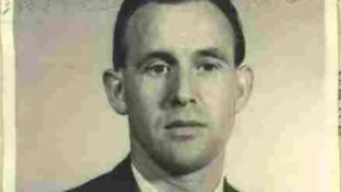 Esta imagen de 1959 divulgada por el Departamento de Justicia muestra a Friedrich Karl Berger, un ex guardia nazi de campos de concentración, que a los 95 años fue deportado este sábado a Alemania desde EEUU