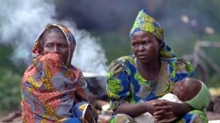 Habitants de Bossangoa, République centrafricaine (archive).