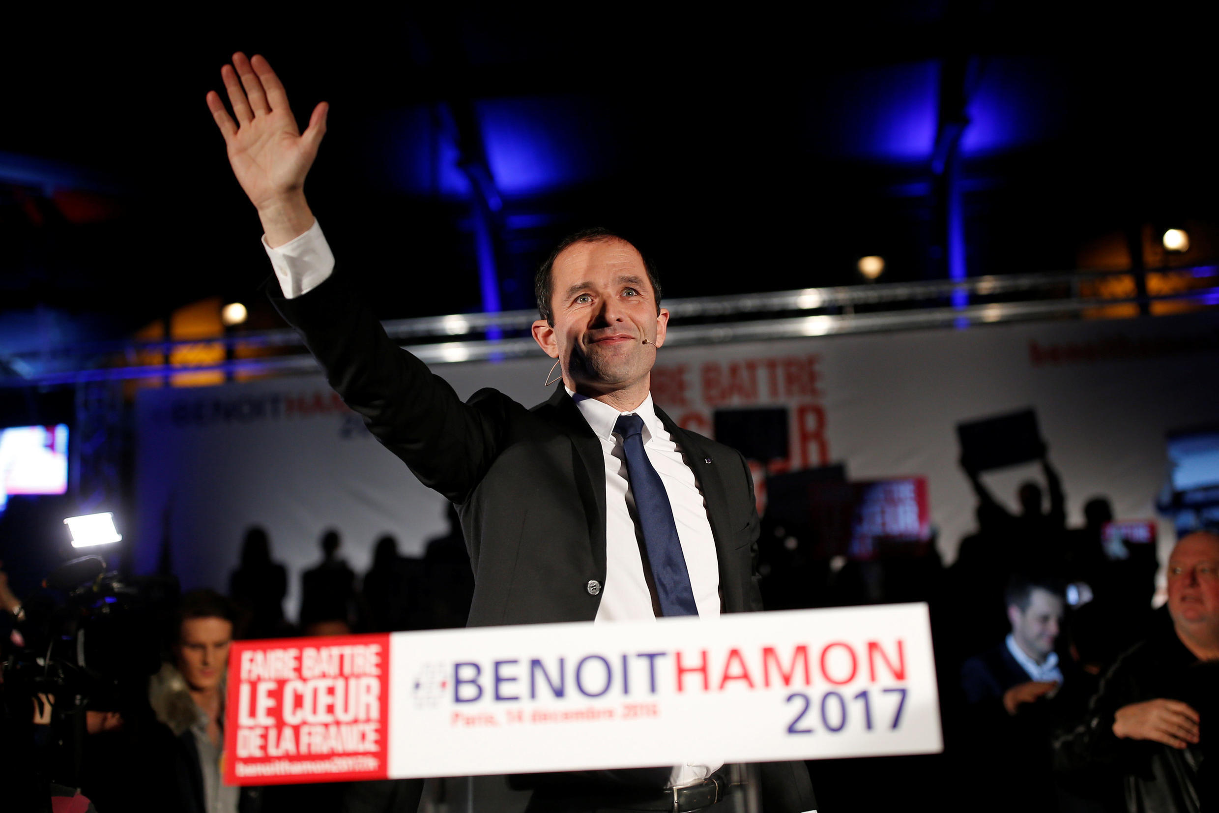 Socialist Presidential Primary Benoit Hamon has made Universal Basic Income one of the key proposal of his campaign.