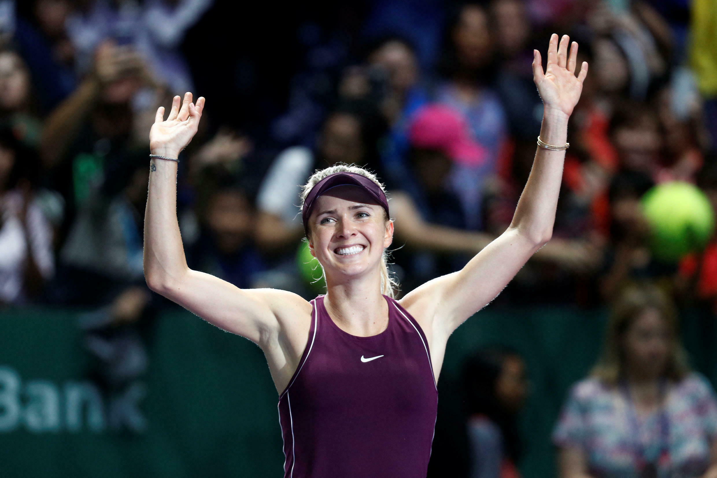 2019 US Open semi-finalist Elina Svitolina was one of two top 10 players to announce their withdrawal from the 2020 tournament.