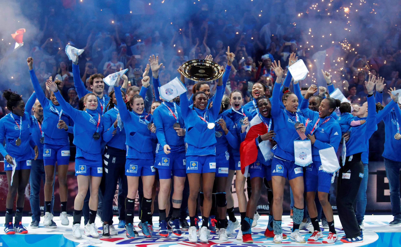 France's women's handball team beat Russia 24-12 to win their first ever European championship, Sunday 16 December