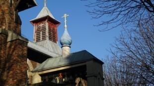 Церковь в Сергиевском подворье в Париже