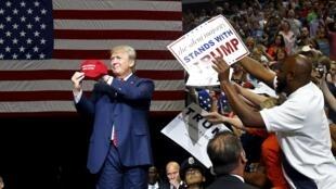 Le candidat républicain, Donald Trump à Dallas, le 14 septembre 2015.