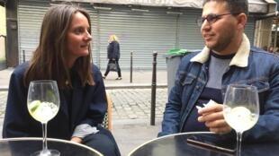 Charlotte Guibert et Karwan Bazyan se sont rencontrés grâce à l'association Singa.