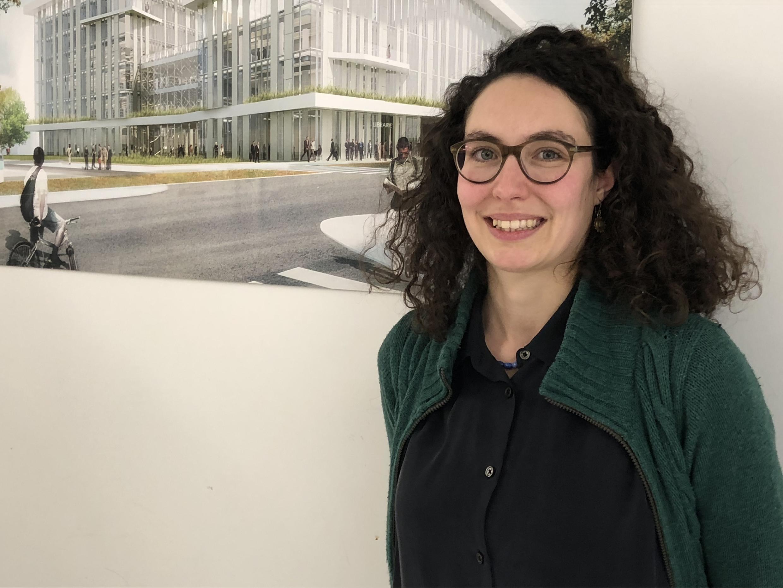A antropóloga Juliette Woitchik, da Universidade de Saint Louis, na Bélgica.