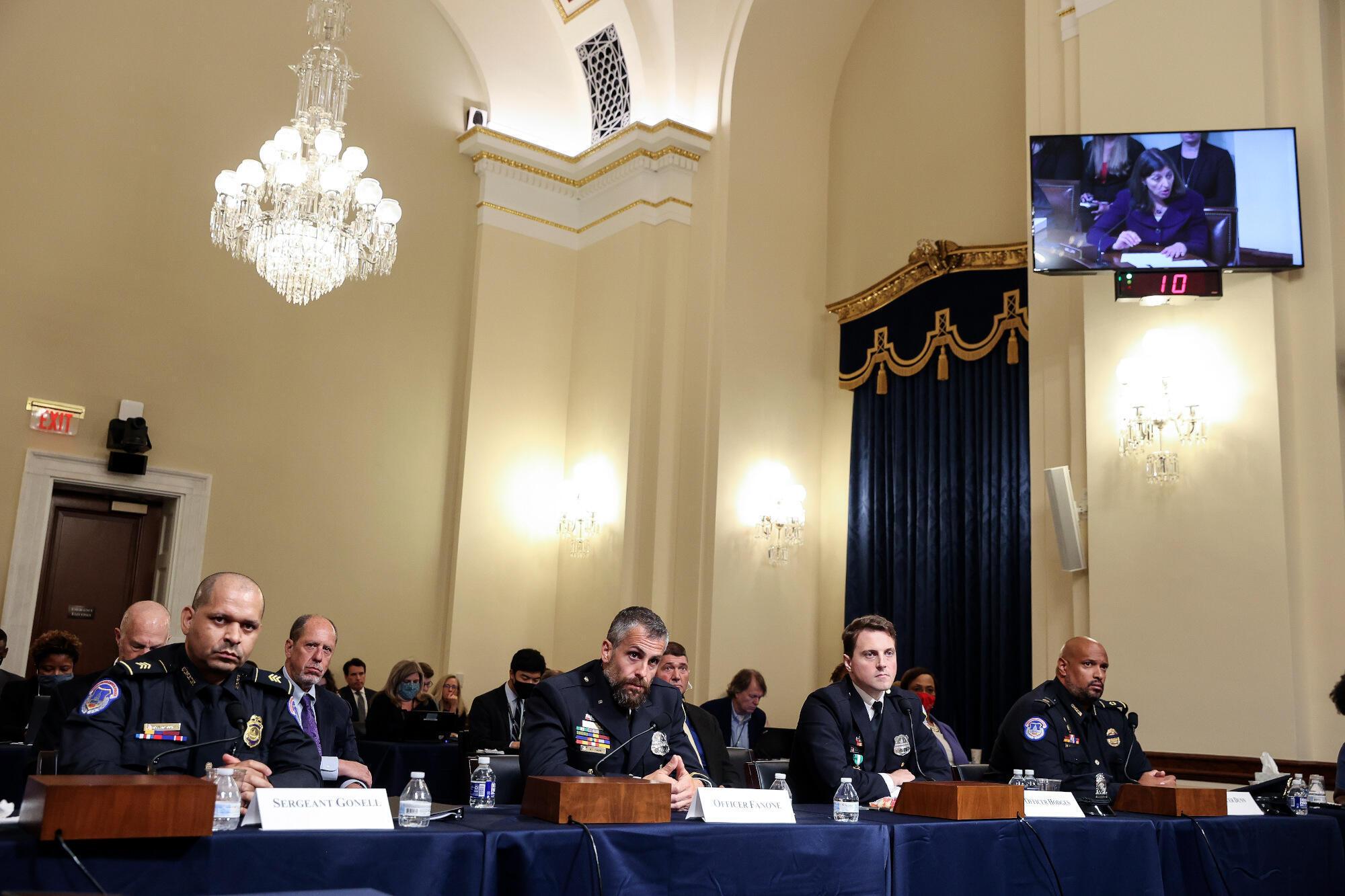 Capitole - témoignage policiers