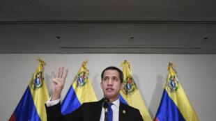 Venezuela - Juan Guaido AP20340768309971