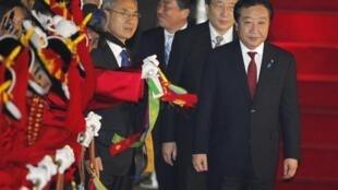 Seoul trải thảm đỏ tiếp đón thủ tướng Nhật Yoshihiko Noda (Reuters)