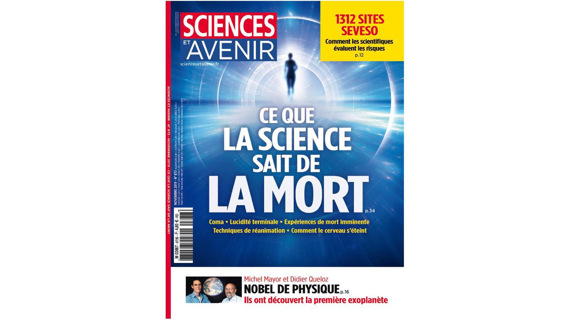Couverture «Sciences et Avenir».