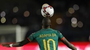 Le meneur de jeu de l'équipe de Mauritanie, Adama Bâ. (Illustration).