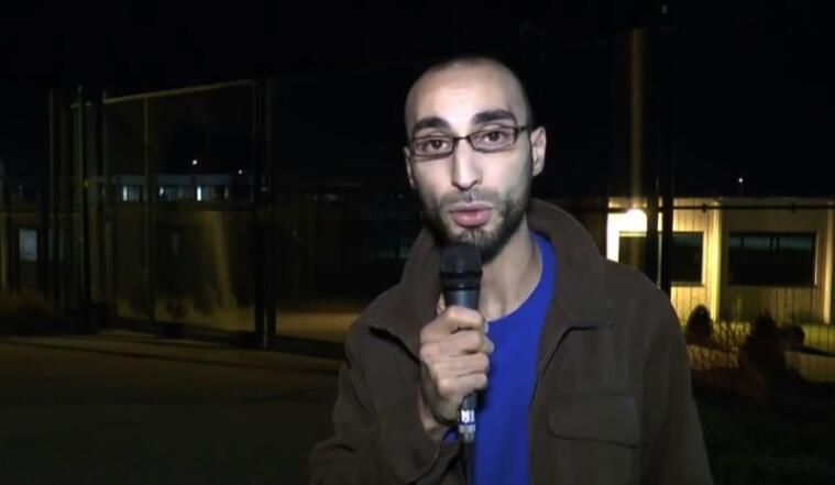 Faisal Cheffou, em imagem de vídeo, de 2014, no site Youtube.