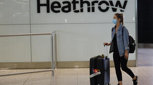 Normally Europe's busiest airport, London Heathrow was largely deserted
