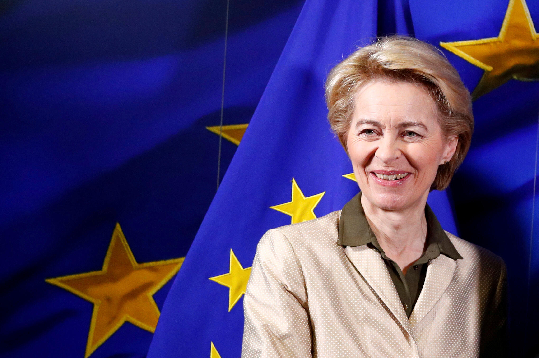 La nouvelle présidente de la Commission européenne Ursula von der Leyen a donné mercredi 4 décembre sa première conférence de presse.
