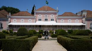 Palácio de Belém, residência oficial do Presidente da República Portuguesa.