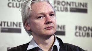 Julian Assange à Londres, le 27 février 2012.
