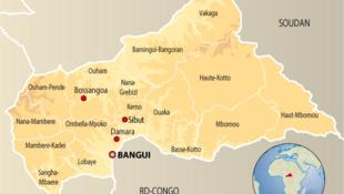 La Seleka est entrée dans Damara, le verrou stratégique qui était contrôlé par la Fomac, à 75 kilomètres de Bangui.
