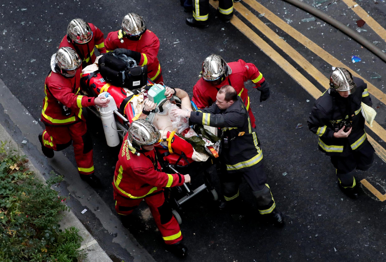 بسیاری از ساختمانها در پاریس مجهز به گاز است، اما انفجار ناشی از نشت گاز بسیار کم اتفاق میافتد.