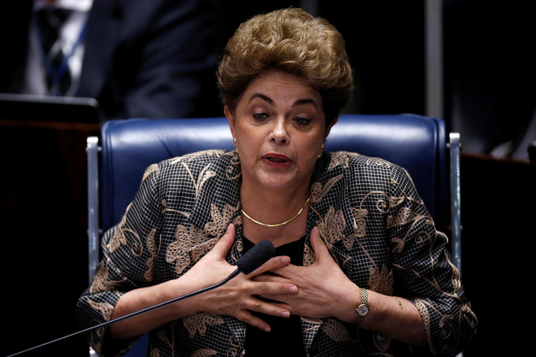 Dilma Rousseff aanatazamiwa kuondoka Ikulu ya Alvorada, baada ya kutimuliwa madarakani.