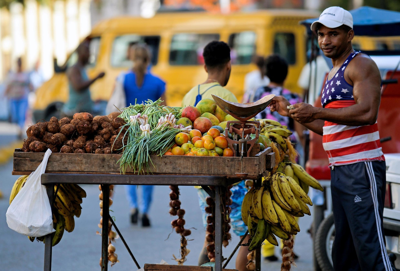 Dans une rue de La Havane, Cuba. (image d'illustration).