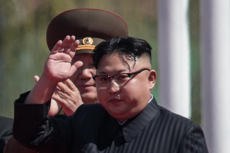 Kim Jong-un, em Pyongyang, 13 de abriol de 2017.