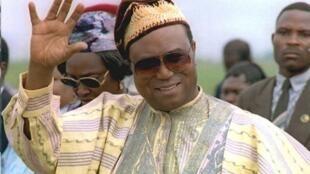 L'ex-président béninois Nicéphore Soglo.