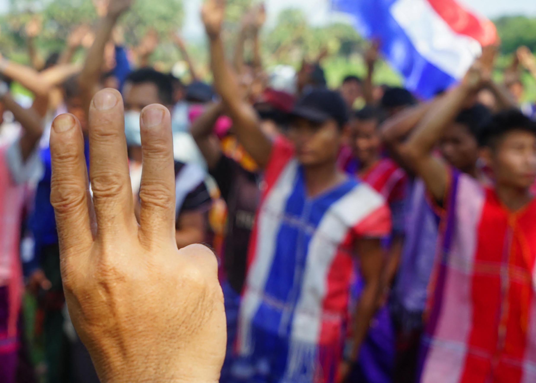 Birmanie Myanmar KNU Etat Karen