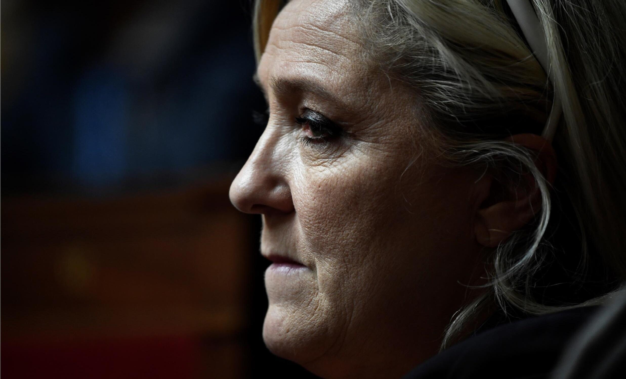 2021-02-10 france politics far-right national rally marine le pen rassemblement national