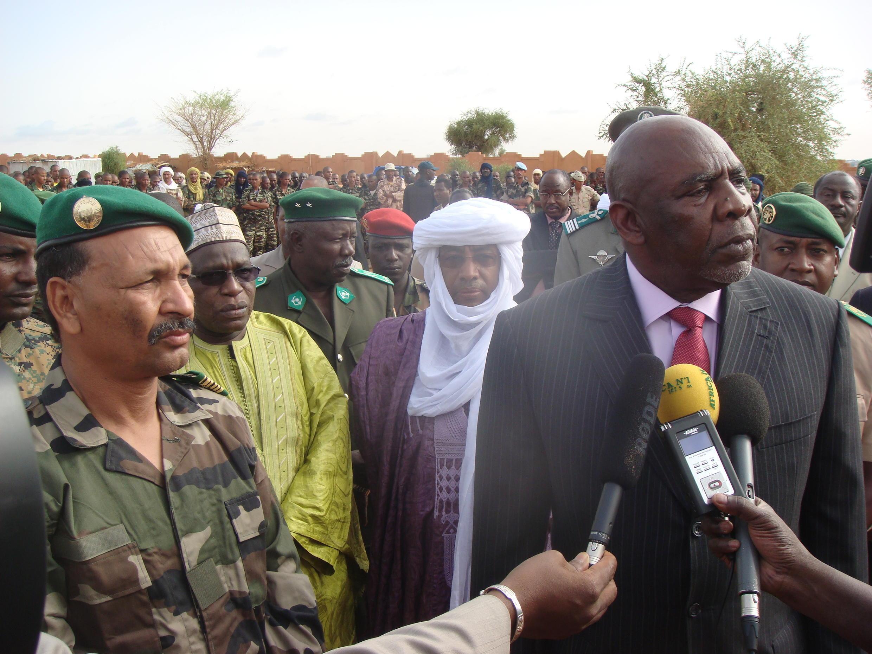 Firaministan Mali Modibo Diarra tare da Kanal Gamou, à Yamai Jamhuriyyar Nijar.