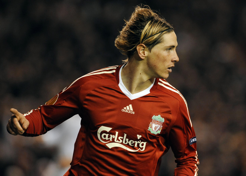 L'attaquant de Liverpool, Fernando Torres.