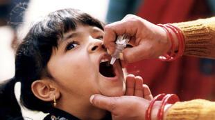 Grâce aux efforts mondiaux, notamment en matière de vaccination, le nombre des cas de poliomyélite a diminué de plus de 99% depuis 1988.