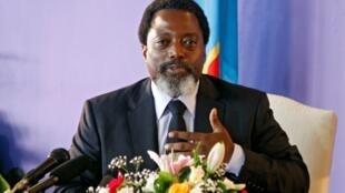 Rais wa DRC Joseph Joseph Kabila.