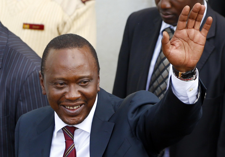 Rais mteule wa Kenya, Uhuru Muigai Kenyatta