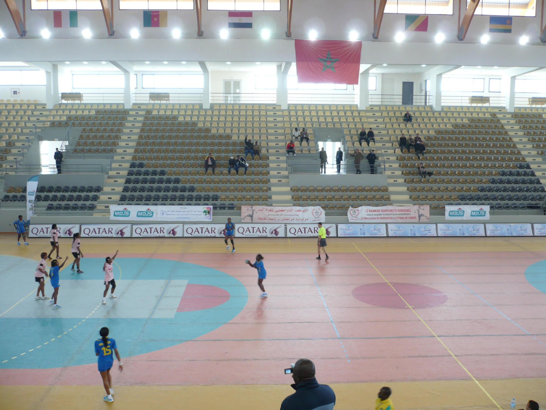 Um dos recintos do Torneio de Tânger, Marrocos